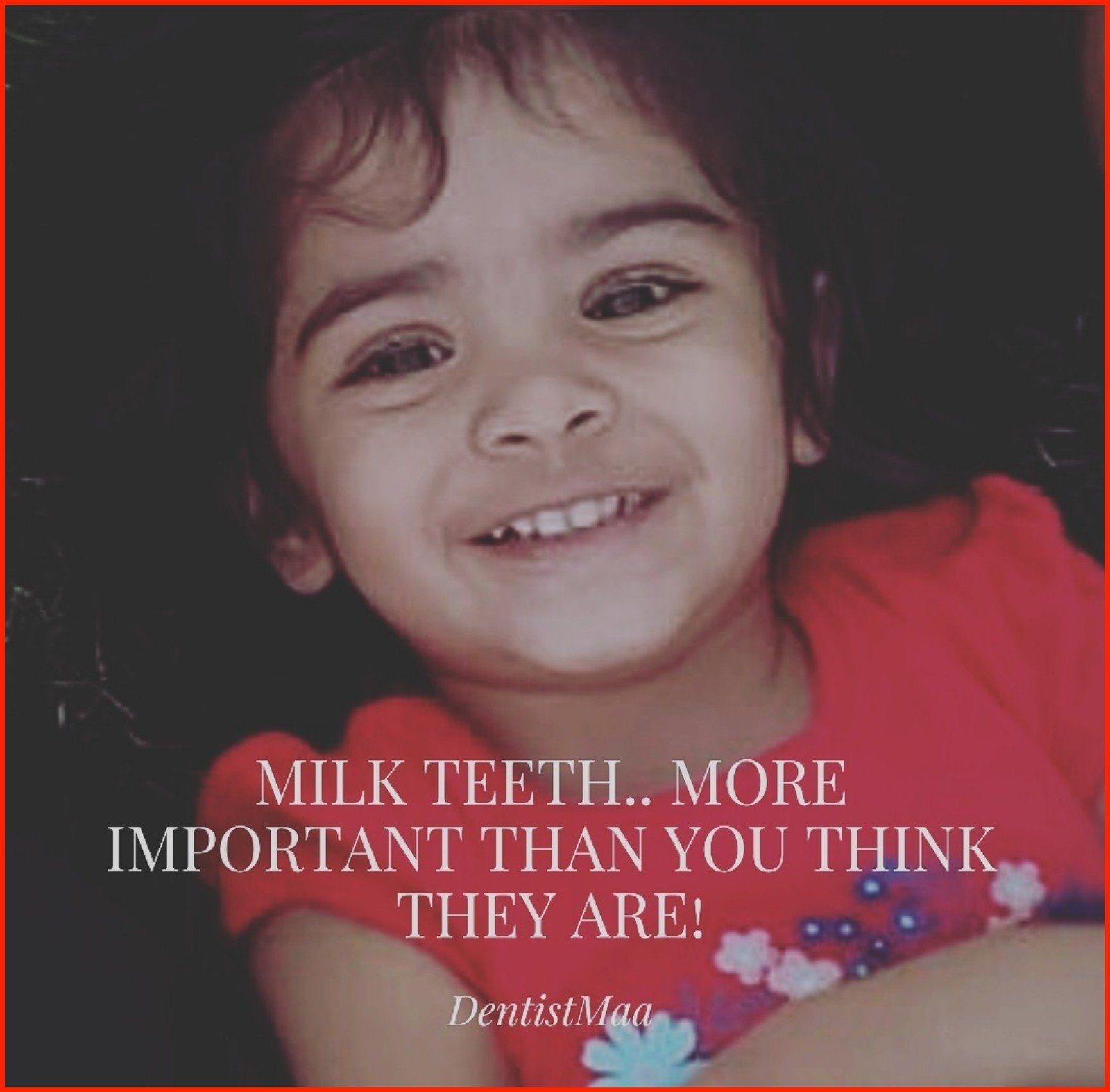 Milk teeth… More important than you think they are!!