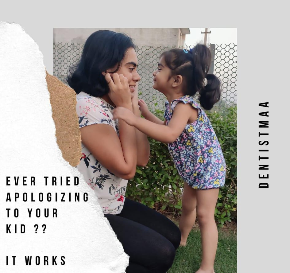 Ever tried apologizing to your child?? It works…