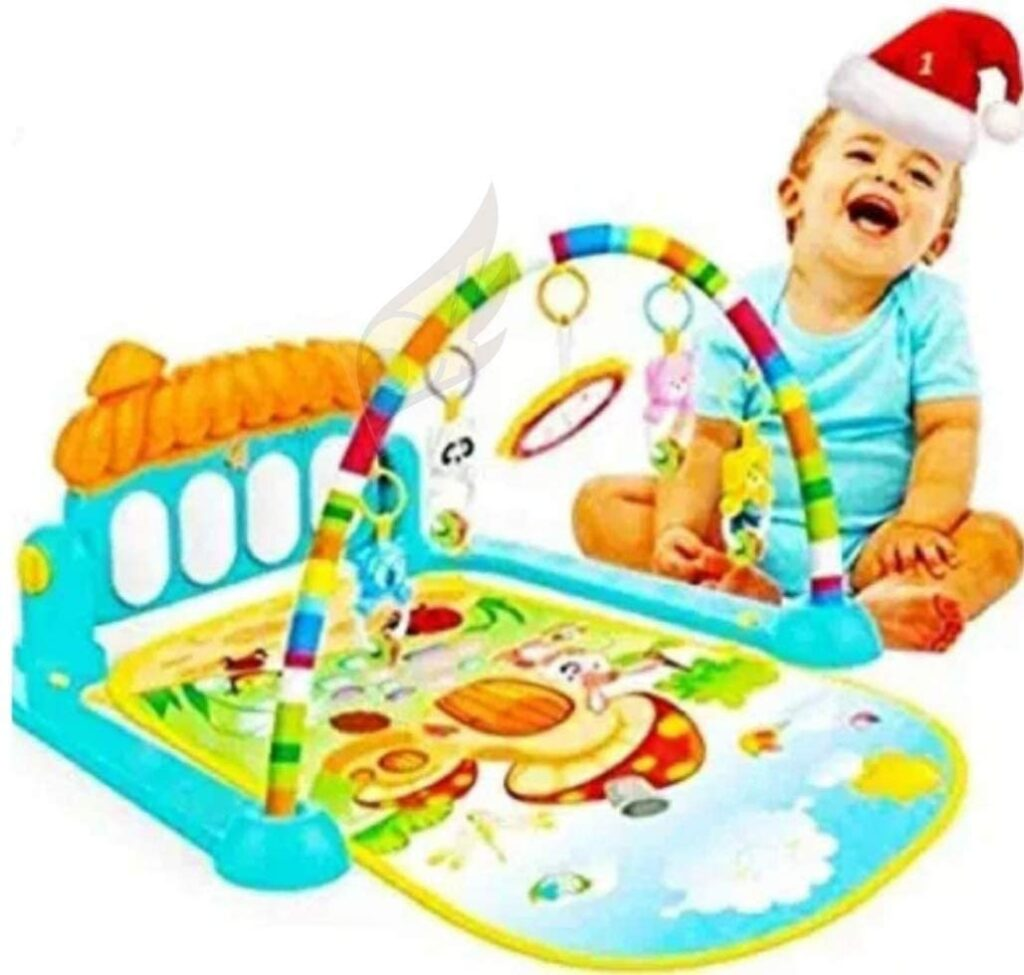 Play gym helping your baby to be happy